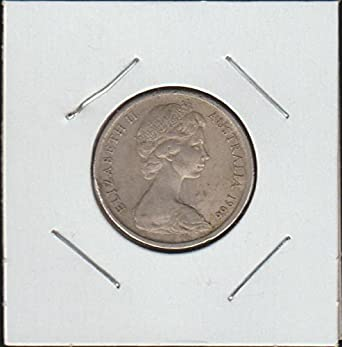 1966 Australia Capped Bust to Right Dime Choice Fine Details