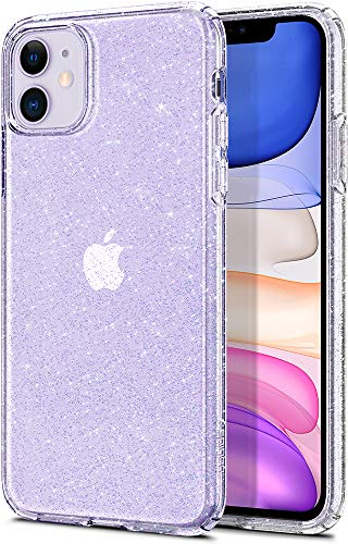 Spigen Liquid Crystal Glitter Designed for iPhone 11 Case (2019) – Crystal Quartz