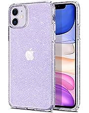 Spigen Liquid Crystal Glitter Designed for iPhone 11 Case Cover (2019) - Crystal Quartz