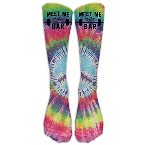 Tie Dye Peace Sign.jpg Compression Socks Soccer Socks High Socks For Running, Medical, Athletic, Edema, Diabetic, Varicose Veins, Travel, Pregnancy, Shin Splints, Nursing. (Halloween Roller Derby Girl)