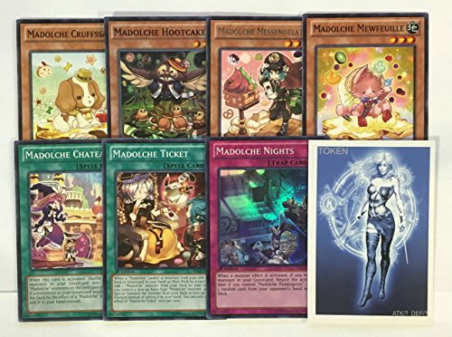 YUGIOH Madolche Deck Core with exclusive Phantasm Gaming Token (Yugioh Madolche Ticket compare prices)