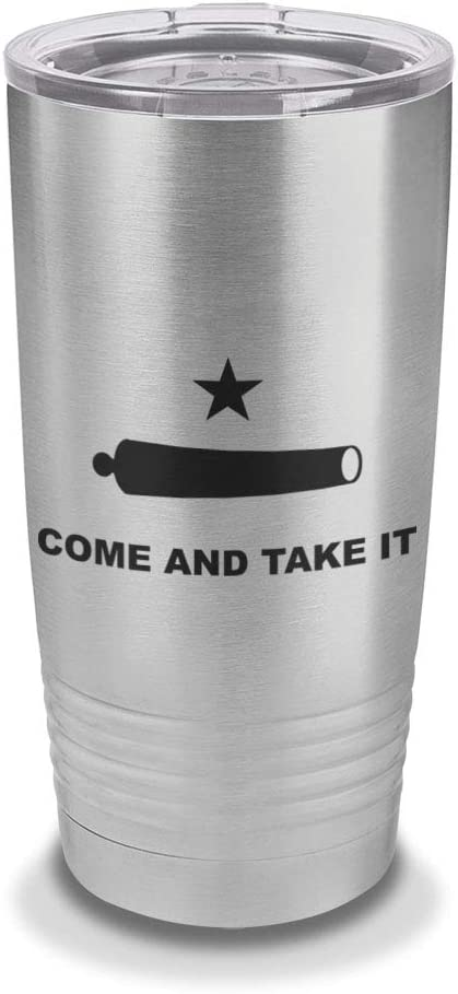 Come and Take It Texas Edition 20oz Tumbler Black