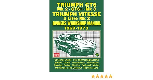 Triumph Gt6 Mk 2 Gt6 Mk 3 Triumph Vitesse 2 Litre Mk 2 1969 1973 Ltd Brooklands Books 9781783181322 Amazon Com Books