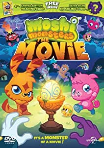 Moshi Monsters - Limited Edition with Trading Card and Moshling Code [DVD] [2013] by Wip Vernooij