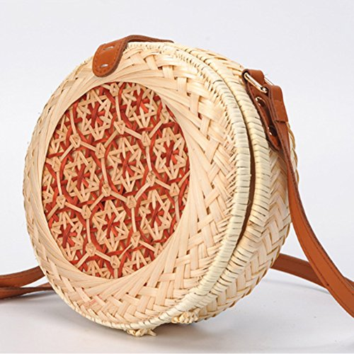 Bag Travel For Shoulder Straw Bag And Crossbody Womens Everyday Handbag Beach Yjiujiu Use xZzqYCUwW