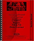 Farmall Regular Tractor Service Manual