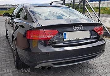 A5 8t Sportback vorfacelift Difusor trasero S-LINE Look (doppeldrohr IZQUIERDA): Amazon.es: Coche y moto