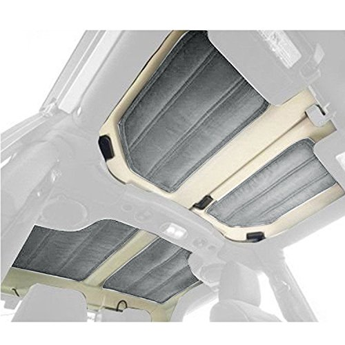 Opar Door Hardtop Sound Deadener Insulation Kit for 2011 - 2018 Jeep JK Wrangler 2-Door