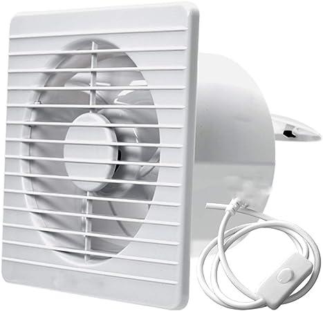 Ventilador Extractor silenciosa Ventilador de Escape Baño del ...