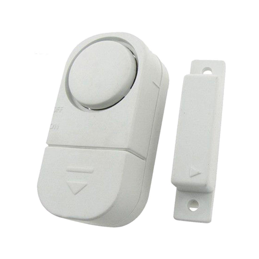 Fensteralarm - TOOGOO(R) 10X Fensteralarm Tueralarm Sirene Alarmanlage Fenster Tuer Alarm Einbruchschutz