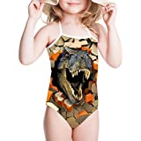 Showudesigns Swimwear Swimsuit One Piece Girls Bathing Suit Animal Pattern