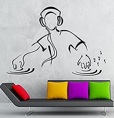 XX Plus Fashion Dj Music Party Night Club Dance Floor Wall Decal Sticker For You