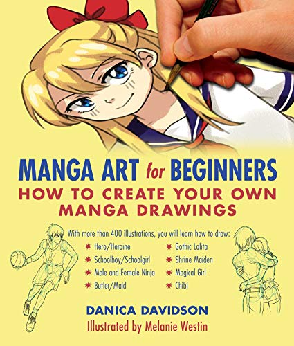 Manga Art for Beginners: How to Create Your Own Manga Drawings