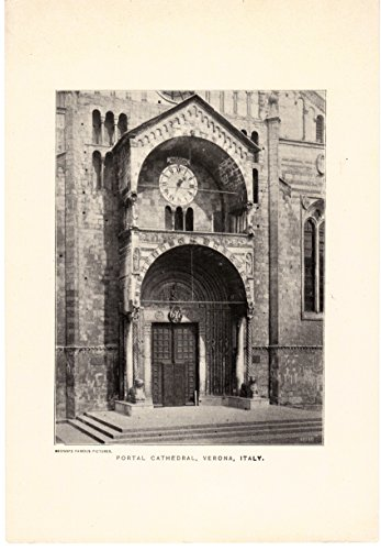 Portal Cathedral, Verona Italy circa 1910 (Brown's Famous Images)
