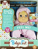 Goldberger BF Baby's First Newborn Little Layla Doll Rattle