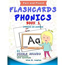 Phonics Flashcards (Single Sounds): 52 flash cards with examples