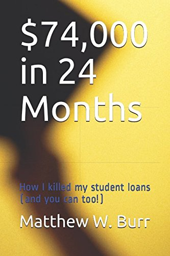 $74,000 in 24 Months: How I killed my student loans (and you can too!)