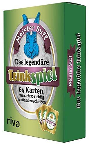riva Verlag Das legendäre Trinkspiel. 64 Karten, Um Sich so Richtig schön abzuschießen Meister Suff Münchner Verlagsgruppe 9783742303226 Spielen / Raten