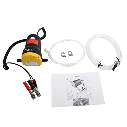 12 V 60 W Fluid Extractor Aceite Diesel Fuel Transfer bomba ...