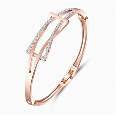 Jewellery & Watches Ladies Silver Fashion Bracelet Pretty And Colorful Bracelets
