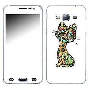 "Motivos Disagu Design Skin para Samsung Galaxy J3 (2016) Duos: ""Lustige Katze"""