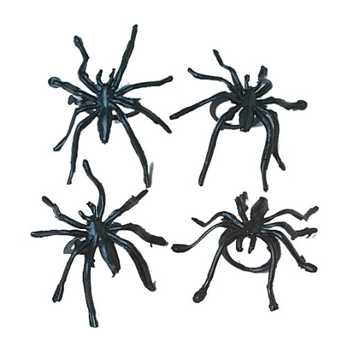 U.S. Toy Spider Rings -