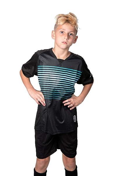 Amazon.com: Camiseta de fútbol para niños de alta calidad ...