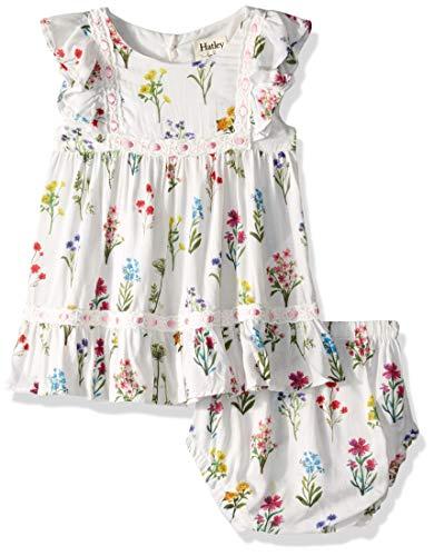 Hatley Baby Girls Mini Party Dress, Enchanted Garden, 12-18 Months (Hatley Summer Garden)
