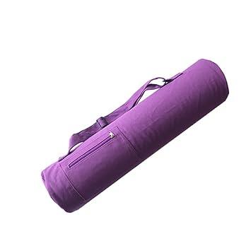 Whchiy - Bolsa de Yoga de Gran Capacidad Ajustable para Yoga ...