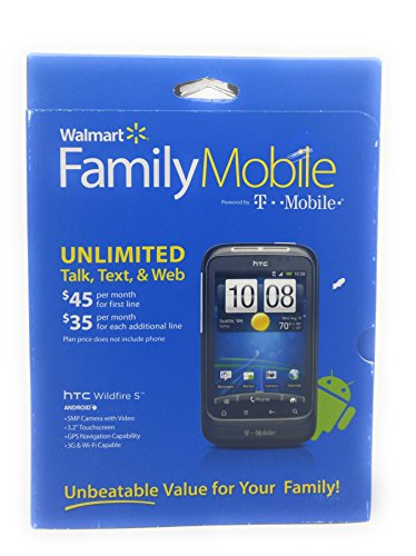 HTC Wildfire S PG-76240 Cell Phone WM Family Mobile