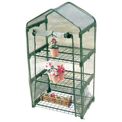 Tierra Garden W4403 Worth Three Shelf Greenhouse by Tierra Garden