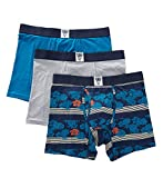 Lucky Brand Mens Pack of 3 Boxer Briefs, M