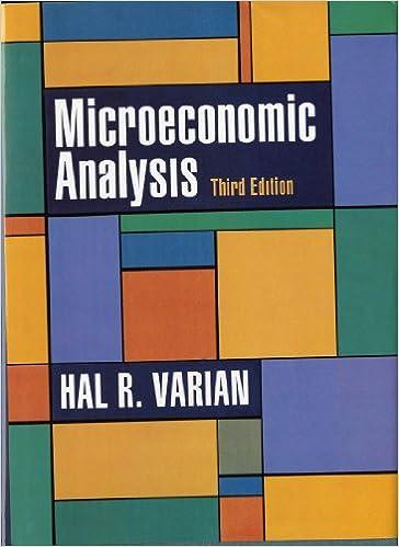 Microeconomic Analysis Third Edition 9780393957358
