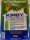 vacuum kirby cleaner - Kirby Vacuum Cleaner Disposable Cloth Paper Bags White Hepa Bags 6 Pack Universal Style Fits ALL Kirby Models