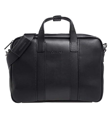 Calvin Klein Essential 2 G Laptop Bag - Borse per PC portatili Uomo ... 47a4b05e823
