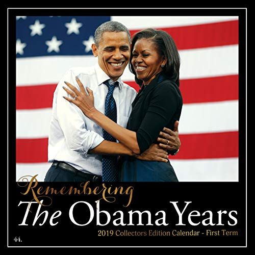 Shades of Color 2019 The Obama Years African American Calendar, 12