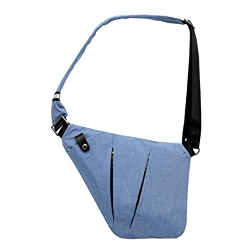 Ovecat Sling Bag Crossbody Shoulder Chest Backpack Anti Theft Sash Bags for  Men Women (Blue 4d2428ba20