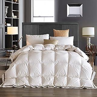 LUOTIANLANG lussuoso spessa piumino di piumino bianco caldo caldo in inverno da diverse dimensioni del nucleo di alta qualità qualità piumino giacigli,white,230cm 3kg 200 *