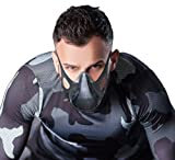 Training Workout Mask Train Exhale and Inhale Separately for Max Breathing, Running, Hypoxic, Altitude, Weight Lifting and Martial Arts Training. Increase Stamina, Fitness and Recovery