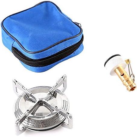 Hornillo de gas para camping (plegable, para uso exterior)