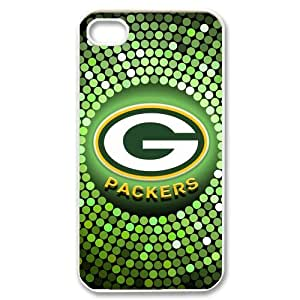 The specially designed the seismic durable NFL Green Bay Packers colorful logo background for iphone 4 4s