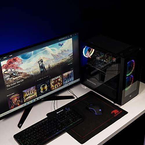 iBUYPOWER Gaming PC Computer Desktop Element Mini 9300 (AMD Ryzen 3 3100 3.6GHz, AMD Radeon RX 550 2GB, 8GB DDR4 RAM, 240GB SSD, WiFi ready, Windows 10 Home)