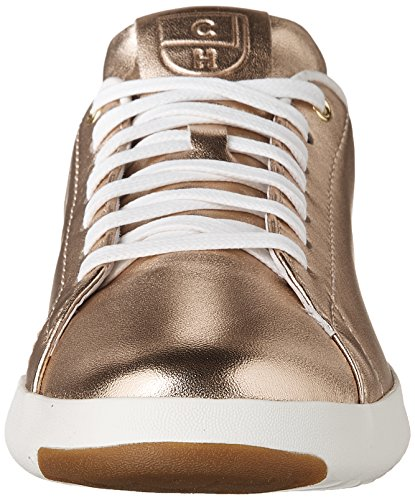 Rose White Sneaker Ox Metallic Grandpro Optic Fashion Haan Leather Lace Tennis Womens Cole Gold xw4ZCqxF