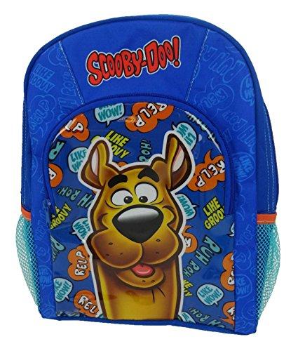 Scooby Doo Kinderrucksack, blau (blau) - SCOOBY001060