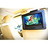 """2015 Premium High Quality Heavy Duty Car Headrest & Airplane Tray Table Mount Holder for 9"""" Portable DVD players"""