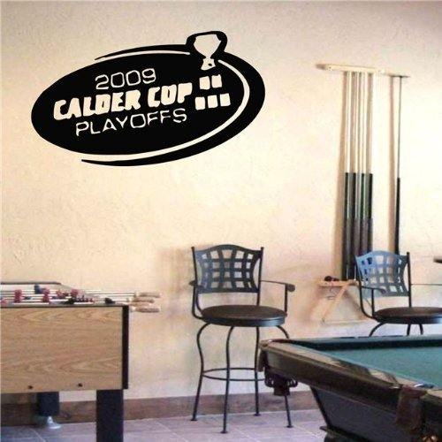 Amazon.com: Vinyl Decal Mural Sticker AHL Calder Cup Playoffs S445: Home & Kitchen