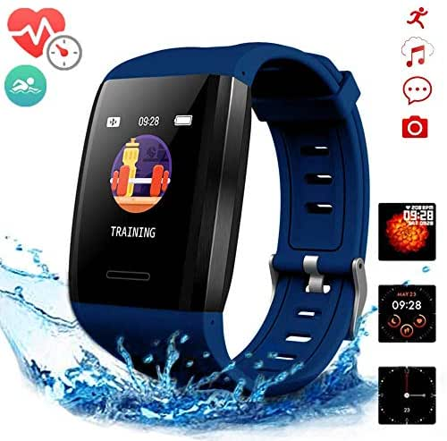 Fitness Watches,Fitness Tracker with Heart Rate Monitor Blood Pressure,Activity Tracker Watch,Sport Watches Waterproof Step Calorie Counter,Smart Watches for Kids Women and Men