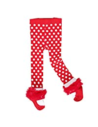 Sanlutoz Baby Girls Tights Ballet Infant Toddler 0-3T Ruffle Legging Newborn