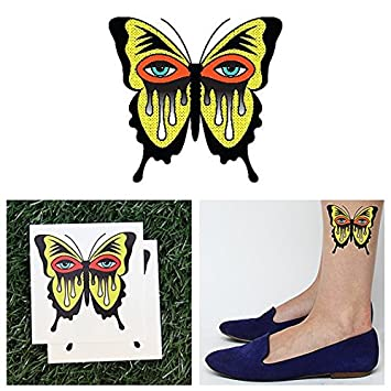 f07794fdc Amazon.com : Tattify Hand Temporary Tattoo - Eye See (Set of 2) - Other  Styles Available - Fashionable Temporary Tattoos - Long Lasting and  Waterproof : ...