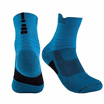 Liuxc Calcetines Calcetines Deportivos para Hombres Calcetines de Baloncesto Calcetines Deportivos para Hombres Calcetines de élite